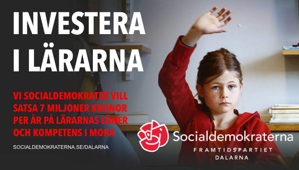 socialdemokraterna skola och utbildning
